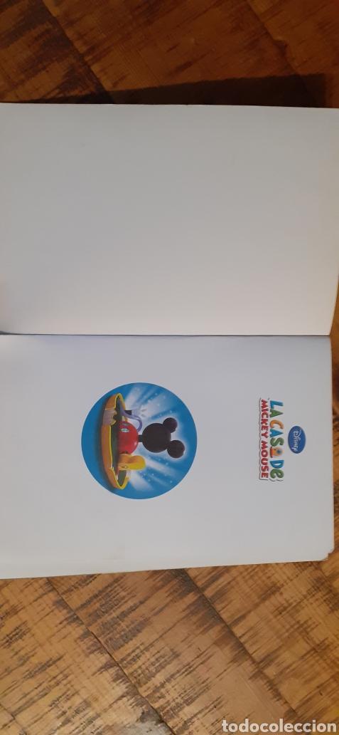 Libros: DISNEY - LA CASA DE MICKEY MOUSE - ES POR AQUÍ - Foto 2 - 187329632