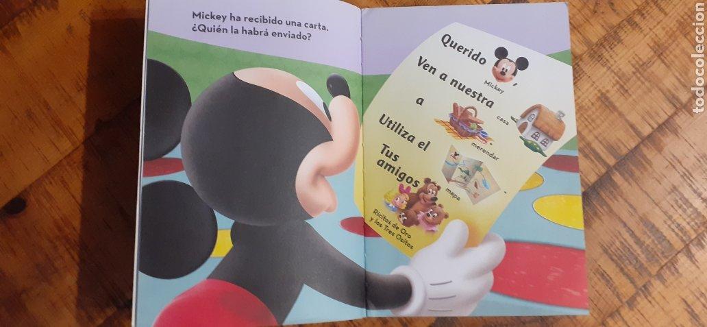 Libros: DISNEY - LA CASA DE MICKEY MOUSE - ES POR AQUÍ - Foto 4 - 187329632