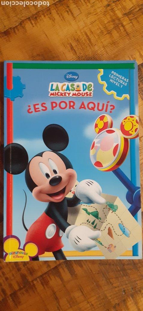 DISNEY - LA CASA DE MICKEY MOUSE - ES POR AQUÍ (Libros Nuevos - Educación - Aprendizaje)