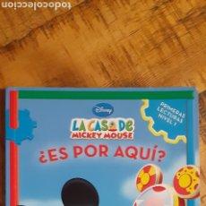 Libros: DISNEY - LA CASA DE MICKEY MOUSE - ES POR AQUÍ. Lote 187329632