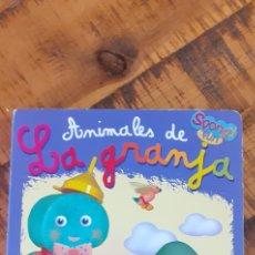 Libros: ANIMALES DE LA GRANJA- SPONGY FUN - TODO LIBRO. Lote 187424030