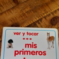 Libros: MIS PRIMEROS CACHORROS- VER Y TOCAR. Lote 187430168