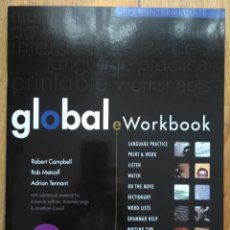 Libros: GLOBAL E WORKBOOK. UPPER INTERMEDIATE.. Lote 187494486