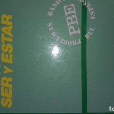 Livros: USOS DE SER Y ESTAR. MOLINA REDONDO & ORTEGA OLIVARES. Lote 189678795
