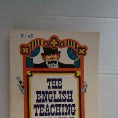Libros: 31145 - THE ENGLISH TEACHING THATRE - ED ALHAMBRA - BBC ENGLISH COURSES - AÑO 1977 - EN INGLES. Lote 191703052