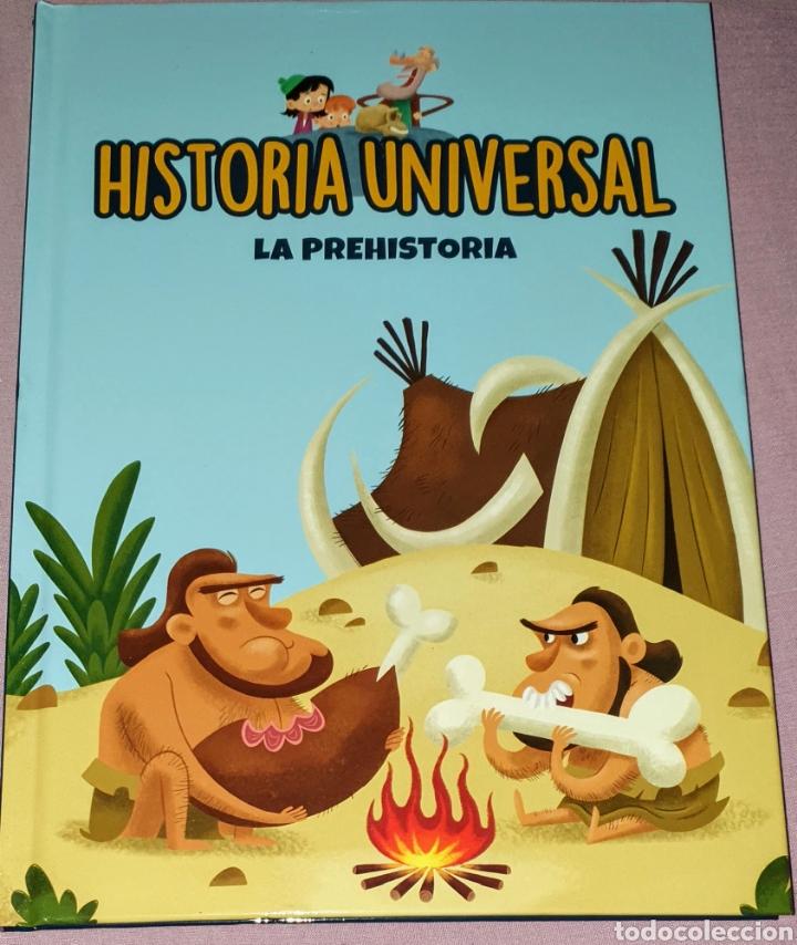 LIBRO DE LA EDITORIAL EMSE EDAPP TITULADO HISTORIA UNIVERSAL. LA PREHISTORIA. 47 PÁGINAS. TAPA DURA (Libros Nuevos - Educación - Aprendizaje)