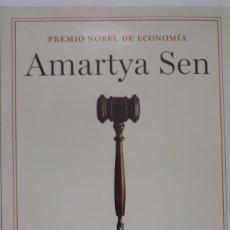 Livres: LA IDEA DE LA JUSTICIA. DE AMARTYA SEN.. Lote 196022576