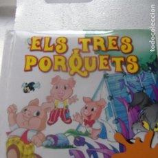 Libros: ELS TRES PORQUETS - EDITORIAL UNIVERSITÀRIA DE BARCELONA-. Lote 198492467
