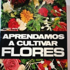 Libros: APRENDAMOS A CULTIVAR FLORES. AUGUSTA MIGNUCCI. Lote 198565168