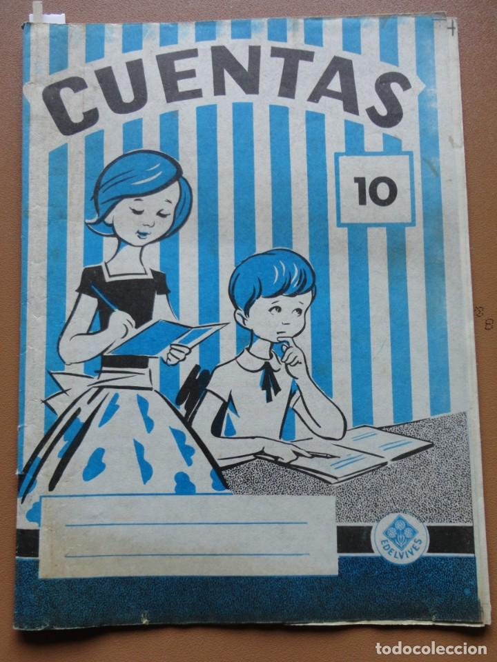 CUENTAS Nº-10 EDELVIVES (Libros Nuevos - Educación - Aprendizaje)