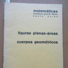 Libros: MATEMÁTICAS SEXTO CURSO BARREIRO RUBIO 1971. Lote 198904612