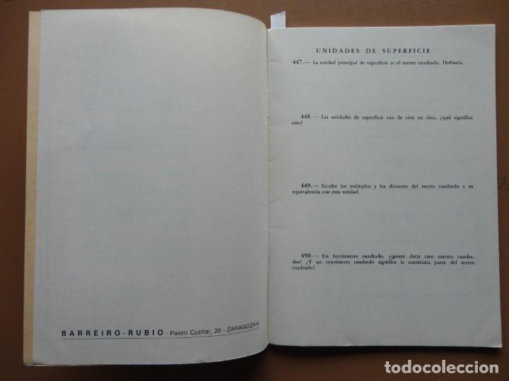 Libros: MATEMÁTICAS Sexto Curso Barreiro Rubio 1971 - Foto 2 - 198904612