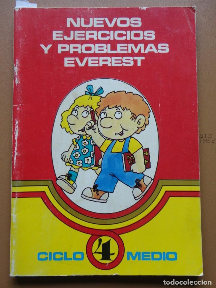 NUEVOS EJERCICIOS Y PROBLEMAS EVEREST Nº-4 1984 (Libros Nuevos - Educación - Aprendizaje)