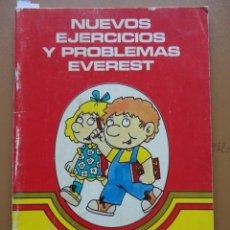 Libros: NUEVOS EJERCICIOS Y PROBLEMAS EVEREST Nº-4 1984. Lote 198904777