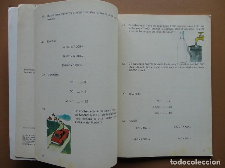 Libros: NUEVOS EJERCICIOS Y PROBLEMAS Everest nº-4 1984 - Foto 4 - 198904777