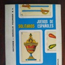 Libros: JUEGOS DE SOLITARIOS ESPAÑOLES, EL ABC DE LA BARAJA DE CARTAS ESPAÑOLA. 1972. Lote 199122937