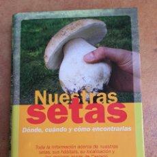Libros: CASTELLON.NUESTRAS SETAS.DIARIO LEVANTE.35 LAMINAS Y ARCHIVADOR.VER FOTOS ADICIONALES.. Lote 199631616