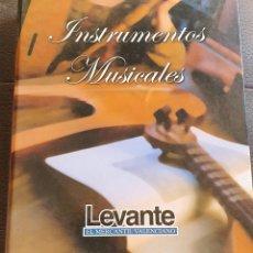 Libros: INSTRUMENTOS MUSICALES.DIARIO LEVANTE.ALBUM ARCHIVADOR CON 41 FICHAS.MUY EDUCATIVO.VER FOTOS ADICION. Lote 199631861