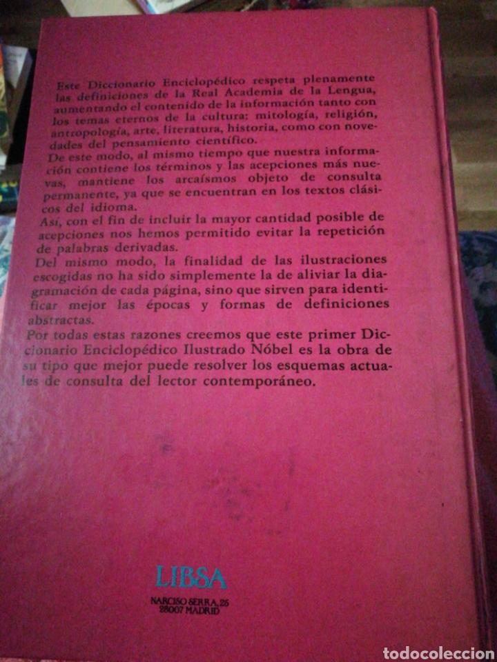 Libros: Diccionario ilustrado Nobel año 1990 - Foto 2 - 199887990