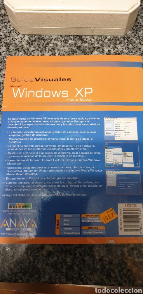 Libros: Windows XP guías visuales editorial.Anaya - Foto 2 - 200086678