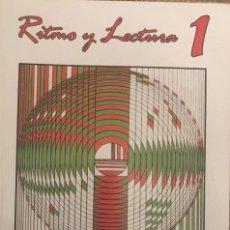 Livros: RITMO Y LECTURA 1. Lote 200861358