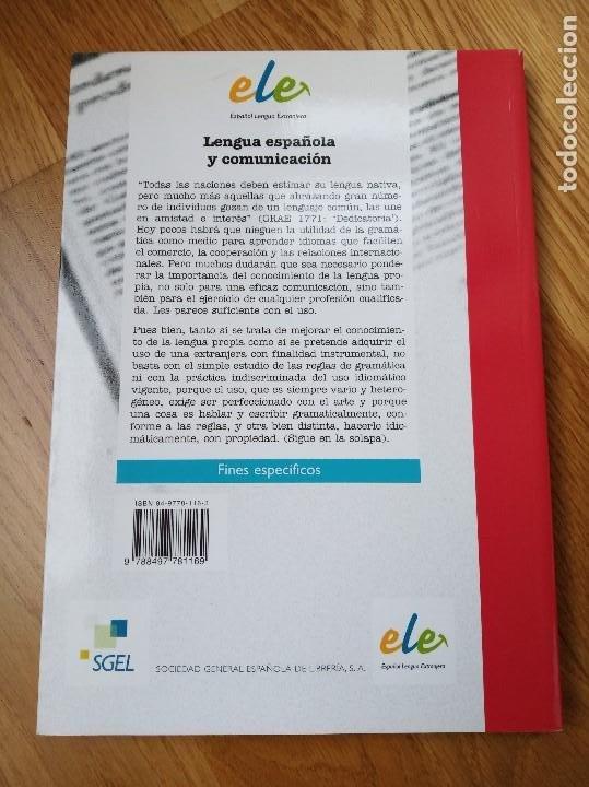 Libros: Lengua española y comunicación - Ramón Sarmiento González, Fernando Vilches Vivancos - Foto 2 - 201370888