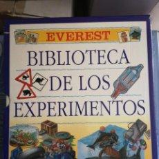 Libros: BIBLIOTECA DE LOS EXPERIMENTOS, 3 TOMOS. Lote 205045163