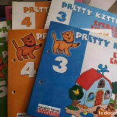 Libros: CURSO DE INGLÉS PRETTY KITTEN EVEREST ENGLISH. Lote 205048290