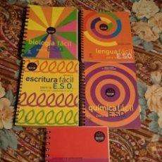 Libros: LOTE 5 CHULETAS DE ESPASA. BIOLOGÍA FÍSICA QUÍMICA LENGUA Y ESCRITURA.. Lote 205749005