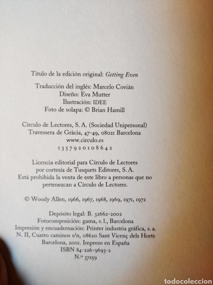 Libros: Como acabar de una vez con todas con la cultura, Woody Allen - Foto 3 - 206324097