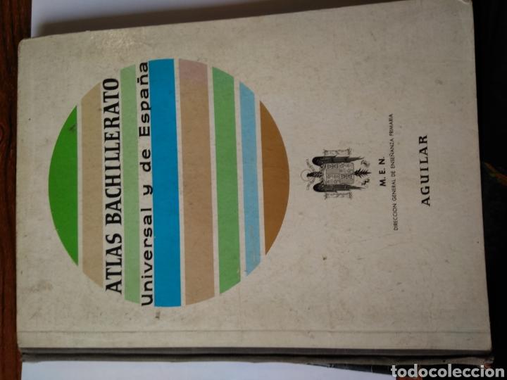 ATLAS BACHILLERATO UNIVERSAL Y DE ESPAÑA (Libros Nuevos - Educación - Aprendizaje)