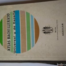 Libros: ATLAS BACHILLERATO UNIVERSAL Y DE ESPAÑA. Lote 206588022