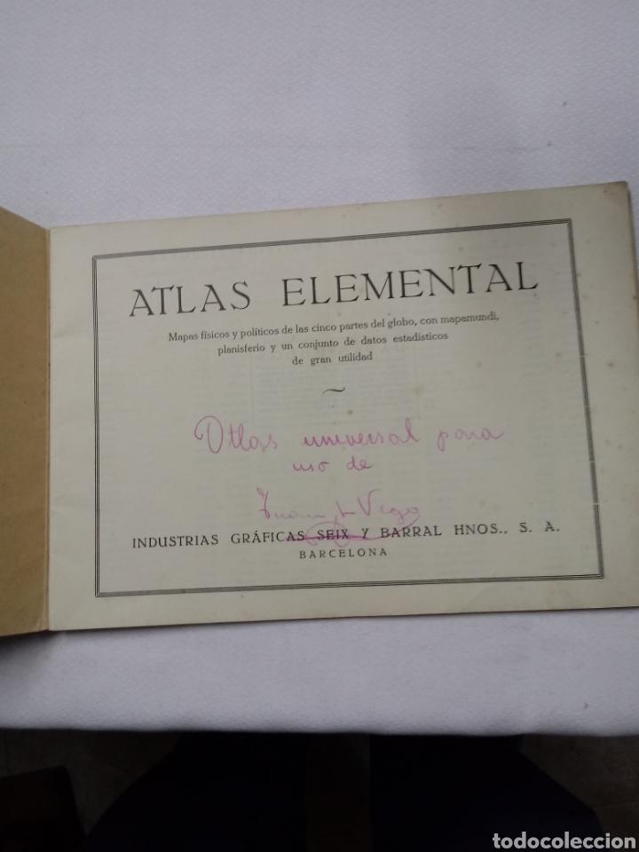 Libros: ATLAS ESCOLAR MODERNO - Foto 2 - 207225113