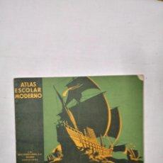 Libros: ATLAS ESCOLAR MODERNO. Lote 207225113