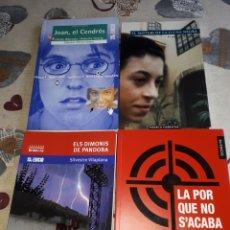 Libros: LOTE. 4 LIBROS VALENCIANO.JOAN EL CEDROS.LLUNA NERA.DIMONIS DE PANDORA.LA POR NO S'ACABA MAI.. Lote 207466318
