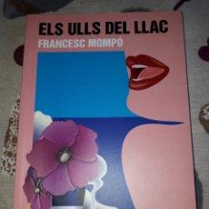 Libros: LIBRO.LLENGUA.VALENÇIANA.ELS ULLS DEL LLAC.FRANCESC MOMPO.SANTILLANA.JOLLIBRE.. Lote 207466500