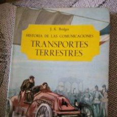 Libros: TRANSPORTES TERRESTRES. Lote 208931670