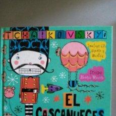 Libros: EL CASCANUECES DE TCHAIKOVSKY ( LIBRO + CD ). Lote 208955276