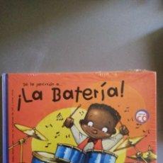 Libros: LA BATERÍA ( LIBRO + ´CD ) PRECINTADO. Lote 208955415