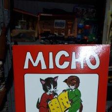 Libros: PRIMERA CARTILLA DE LECTURA MICHO 1 EDITORIAL BRUÑO 1981 IMPOLUTO COMO DE FÁBRICA. Lote 210245465