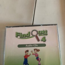 Libros: FIND OUT 4 AUDIO CDS. Lote 210642278