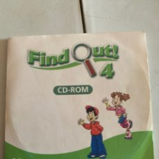 Libros: FIND OUT 4 CD-ROM. Lote 210642542