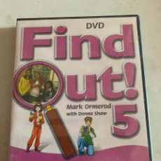 Libros: FIND OUT 5 DVD. Lote 210644269