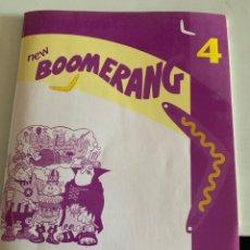Libros: NEW BOOMERANG 4. Lote 210645426