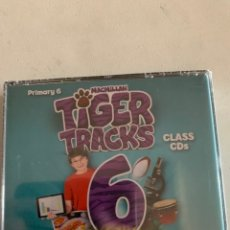 Libros: TIGER TRACKS CLASS CDS 6. Lote 210648027