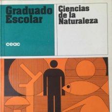 Libros: GRADUADO ESCOLAR. CIENCIAS DE LA NATURALEZA. NUEVO. Lote 210950455