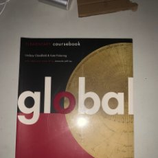 Libros: GLOBAL ELEMENTARY COURSEBOOK. Lote 211757243