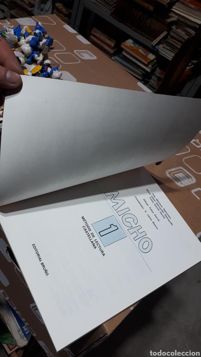 Libros: PRIMERA CARTILLA DE LECTURA MICHO 1 EDITORIAL BRUÑO IMPOLUTO COMO DE FÁBRICA - Foto 6 - 212741040
