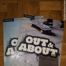 Libros: OUT & ABOUT STUDENT BOOK Y WORKBOOK 1° BACHILLERATO. Lote 212808451