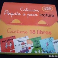 Libros: COLECCIÓN POQUITO A POCO LECTURA. LA GALERA. 18 LIBROS A PARTIR DE 4 AÑOS. PEDAGÓGICO.. Lote 213314387